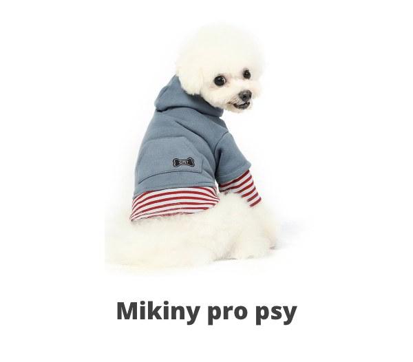 Mikiny pro psy